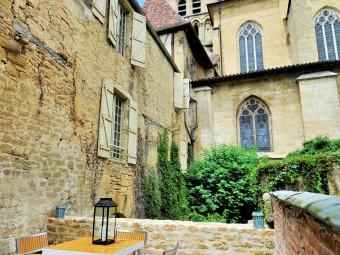 Appartement_ terrasse privée - sarlat