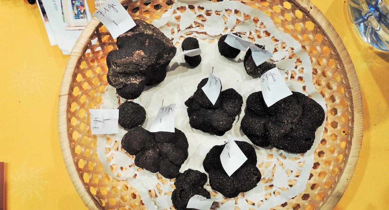 Des truffes à partir de 6€ pièce