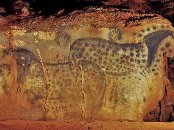 pech_merle_Chevaux ponctués vieux de 25000 ans