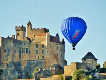 perigord dordogne montgolfière