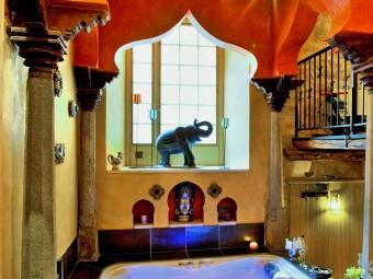 suite des mille et une nuits _ Salle de relaxation_spa_sauna_sarlat