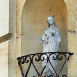 Niches mariales à Sarlat en périgord_dordogne