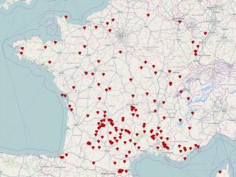 Voyager en france-Carte_des_PluVoyager en france-_Beaux_Villages_de_France