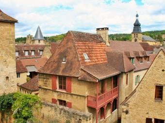 vue des toits de sarlat